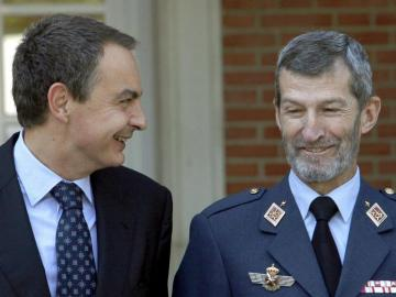 José Julio Rodríguez, exJEMAD con Zapatero