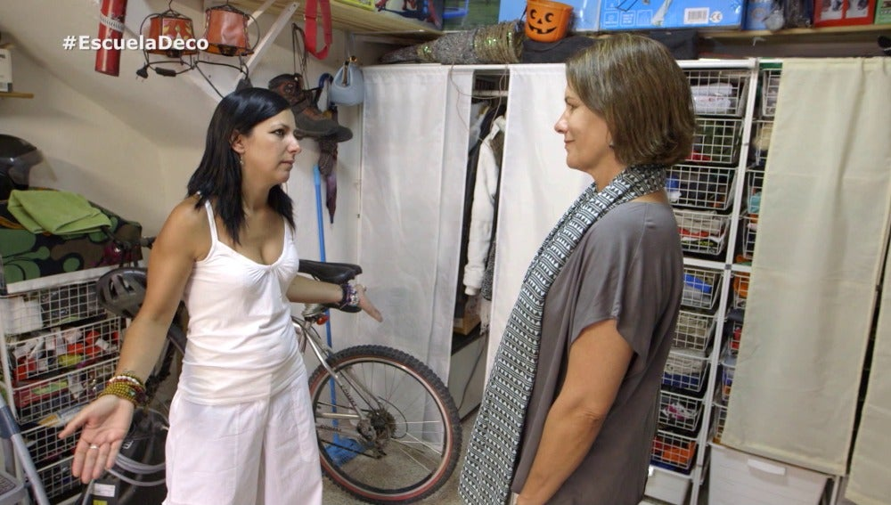 Sara busca reconvertir su garaje en un gabinete de reiki