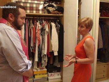 Margarita quiere reformar su habitación para dejarle sitio en los armarios a su novio