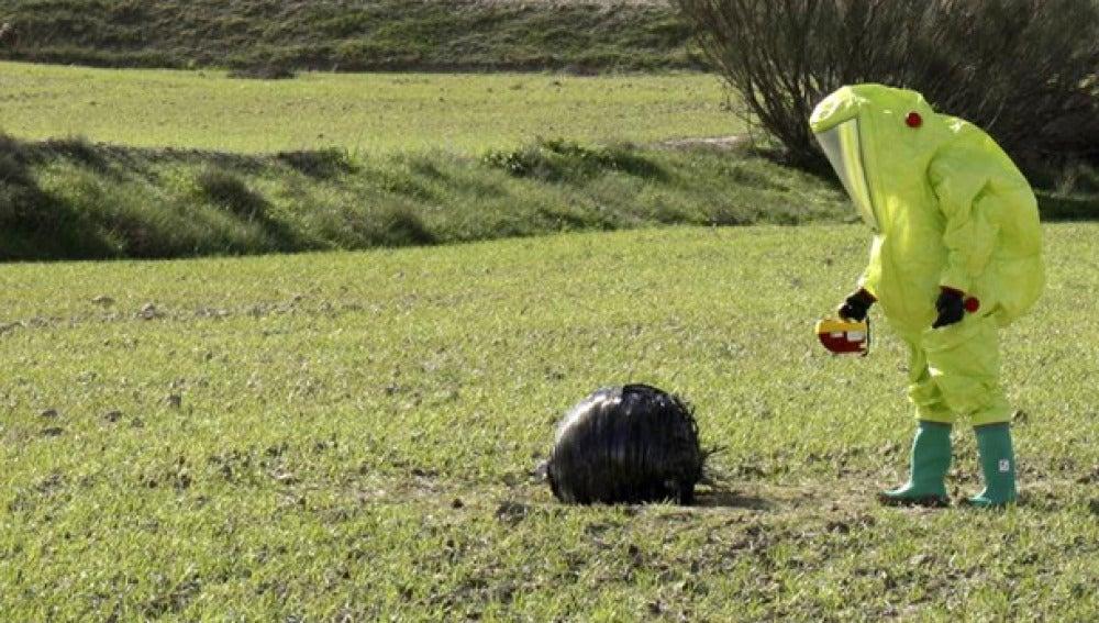 Grupo de Desactivación de Artefactos Explosivos en Mula, Murcia