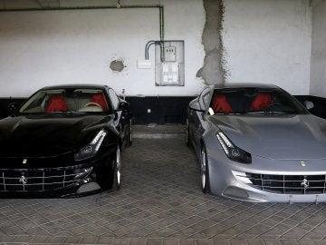 Ferrari sometidos a subasta del rey Juan Carlos