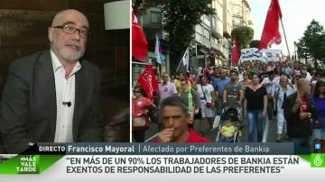 Francisco Mayoral, afectado por las preferentes