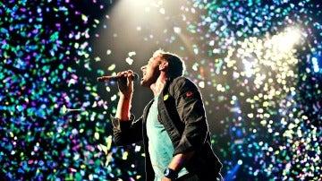 Chris Martin, cantante de Coldplay