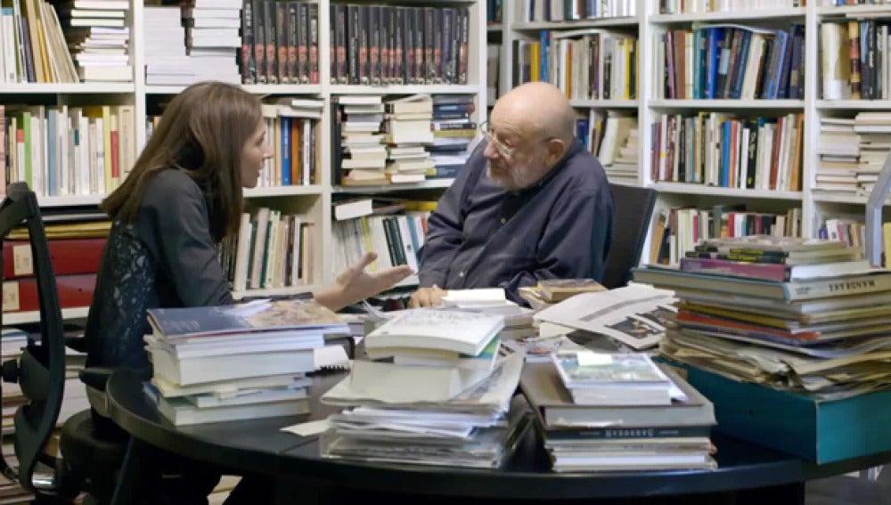 El escritor Umberto Eco, en Salvados