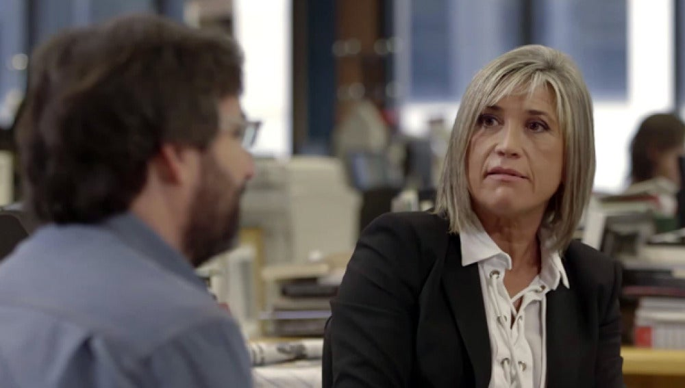 La periodista Julia Otero, en Salvados
