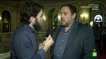 Gonzo entrevista a Oriol Junqueras