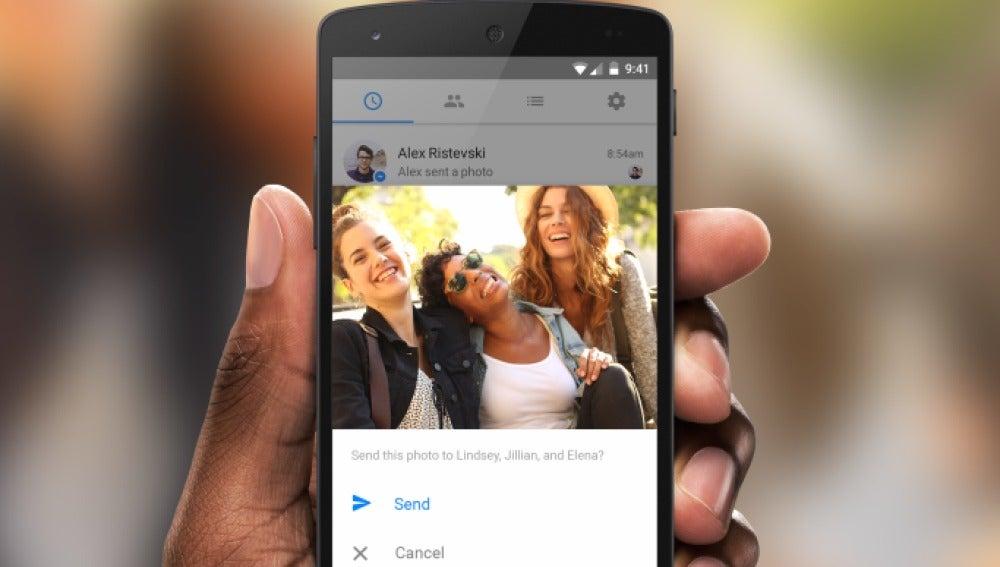 Facebook espiará tus fotos