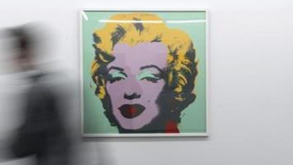 Retrato de Marilyn Monroe realizado por Andy Warhol