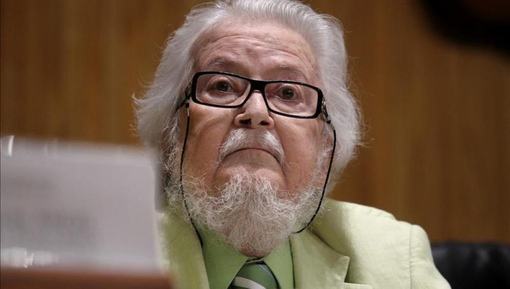 El escritor mexicano Fernando del Paso durante el 'Dia Mundial del Libro'