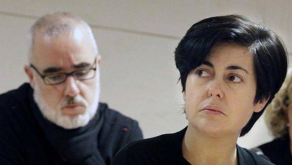 Los padres de Asunta, Rosario Porto y Alfonso Basterra
