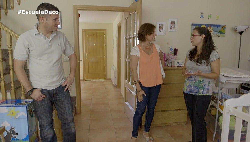 Laura quiere reordenar su casa tras vivir en su salón