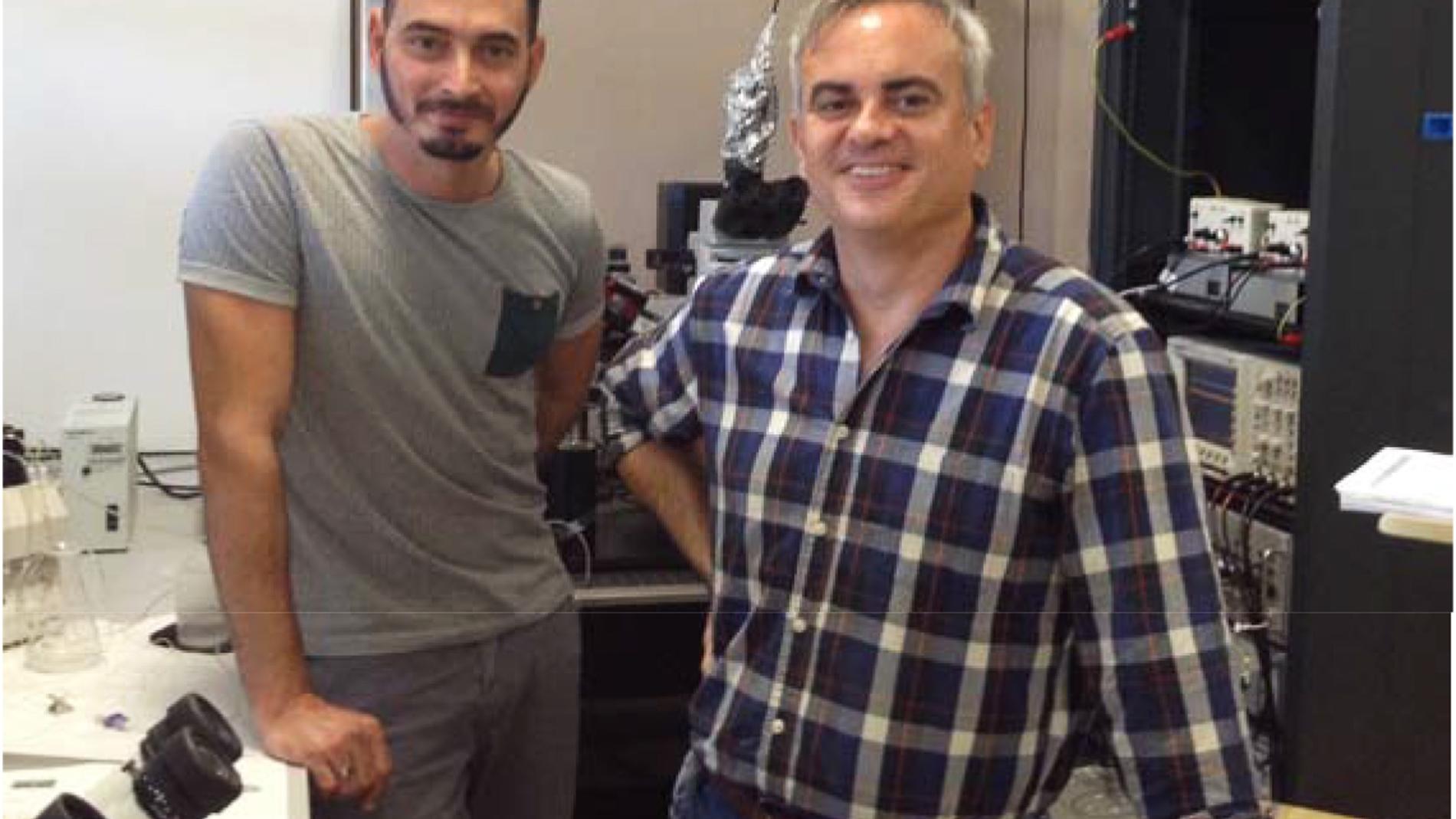 En la fotografía, Andrade-Talavera y Rod