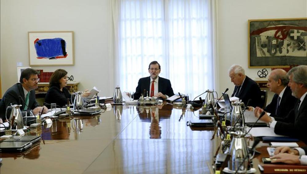 Imagen de la reunión del Consejo de Ministros