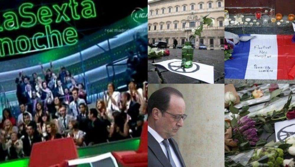 Especial laSexta noche sobre los atentados terroristas en París