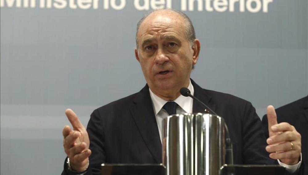 Jorge Fernández Díaz, ministro del Interior