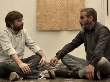 Jordi Évole entrevista a un refugiado sirio en Zaatari