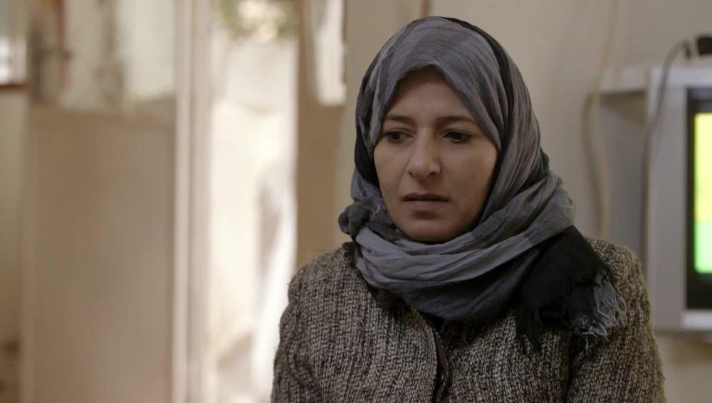 Jordi Évole entrevista a una refugiada siria en el campo de Bashabsha
