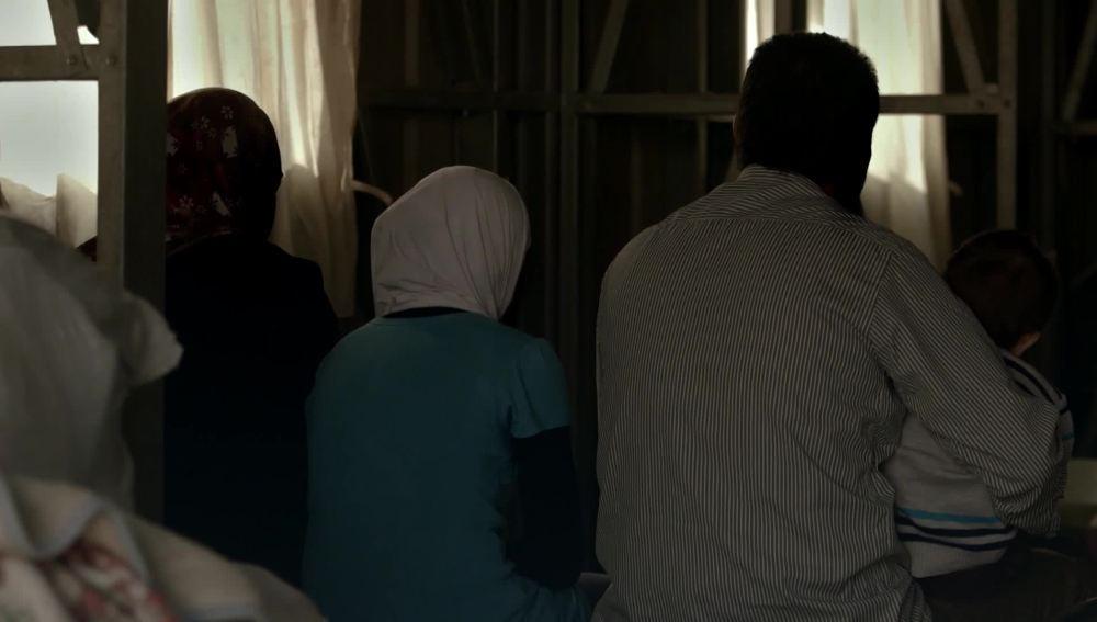 Una familia refugiada siria, en Salvados