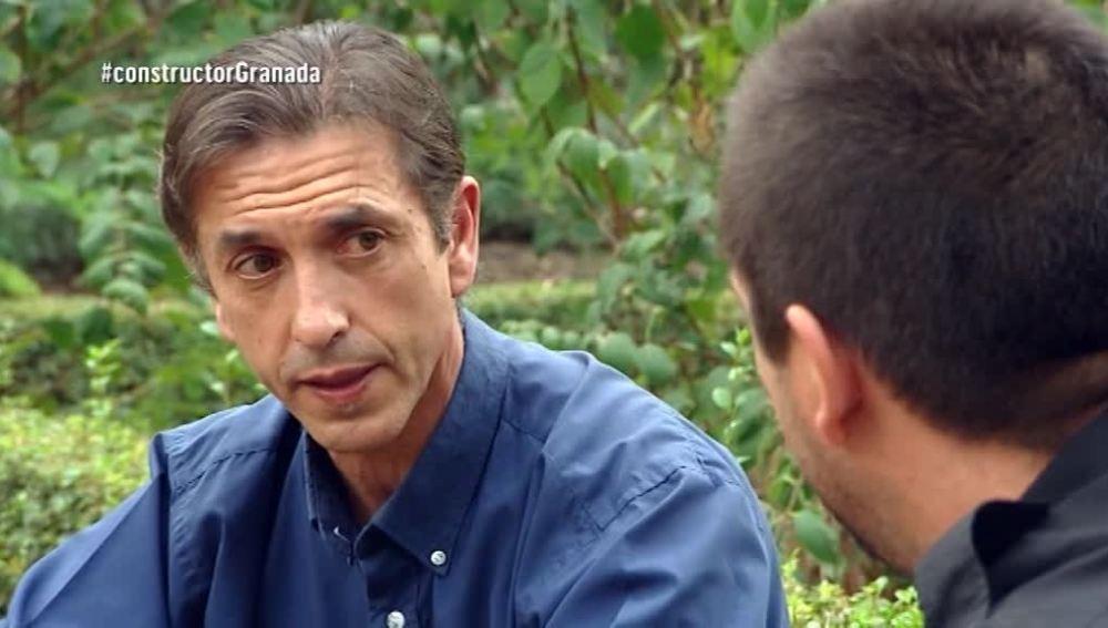 Carlos, el padre del constructor a la fuga de Granada