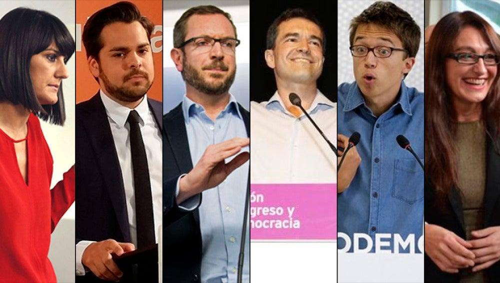 Los participantes del #DebateEn140