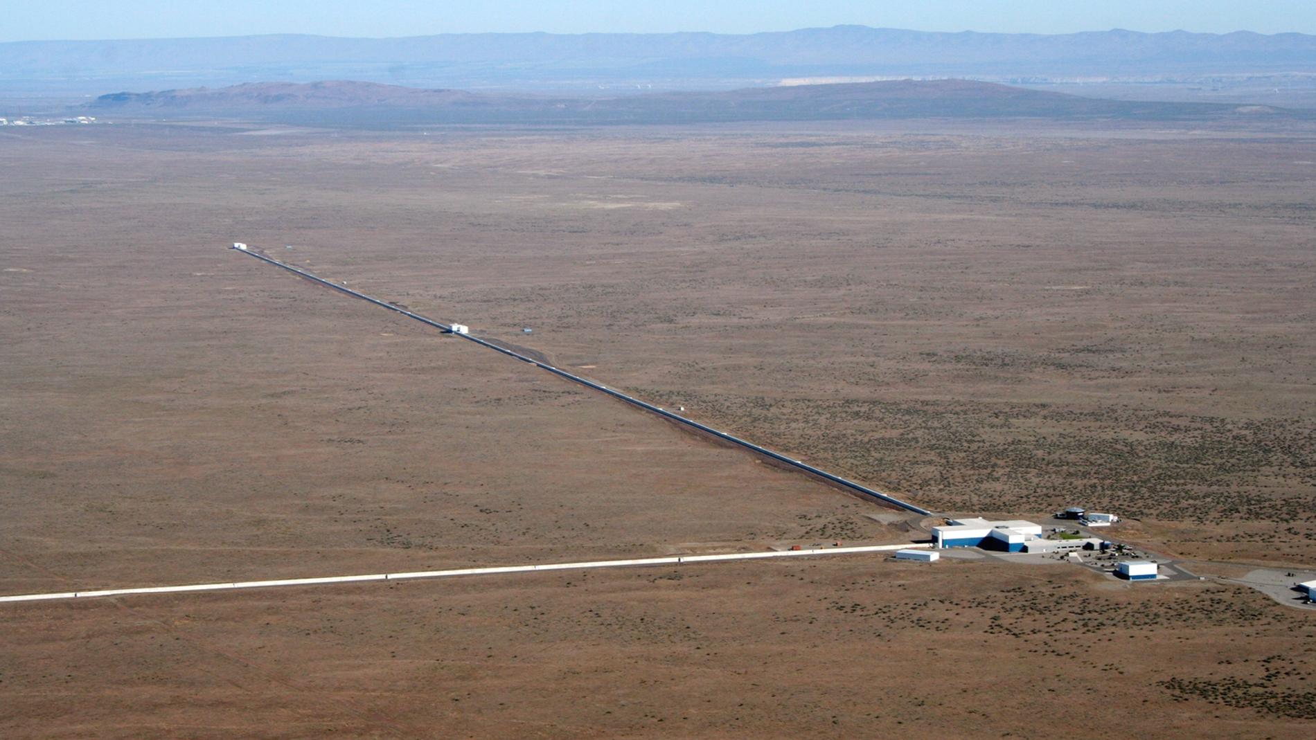 El observatorio de LIGO en Hanford (Wash