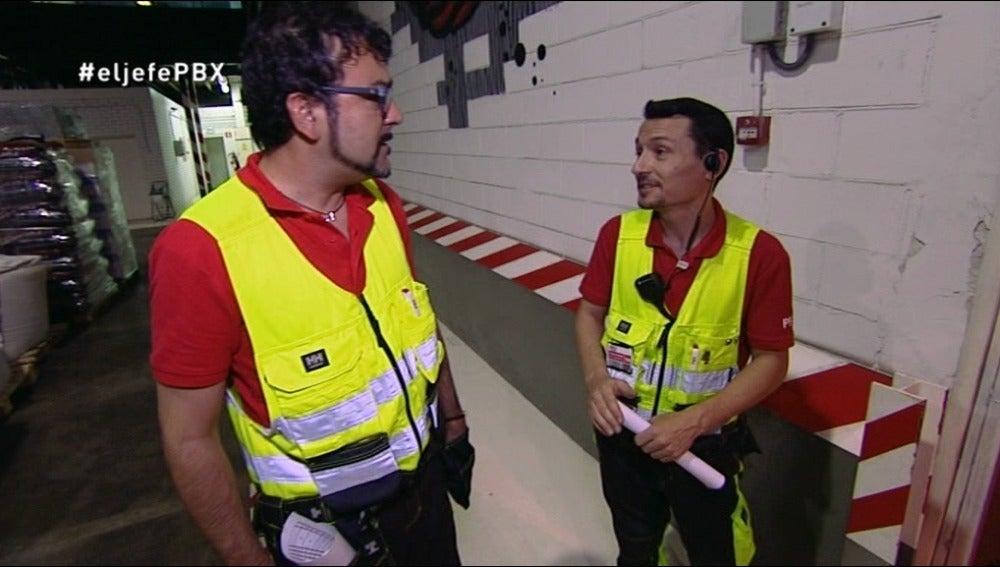 Fernando Martos habla con El Jefe Infiltrado sobre su situación en la empresa