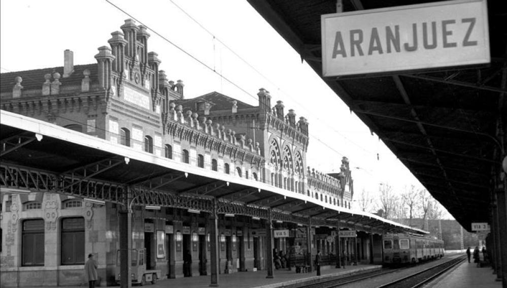 Vista general de la estación de Aranjuez