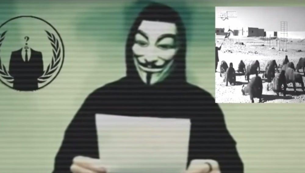 Nuevo vídeo de Anonymous