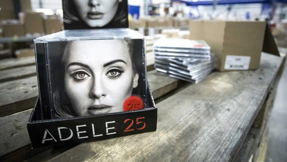 Imagen del nuevo disco de Adele, 25