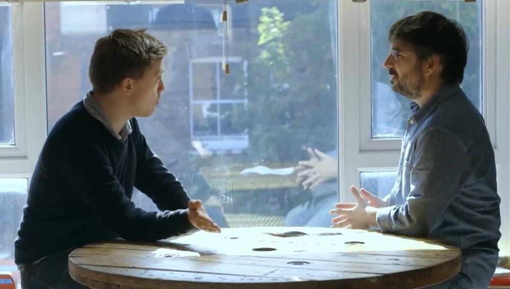 Jordi Évole entrevista a Owen Jones