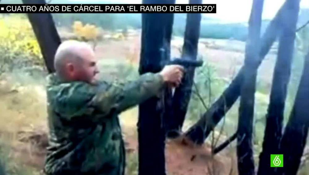 Miguel Ángel Reguera, el 'Rambo del Bierzo'