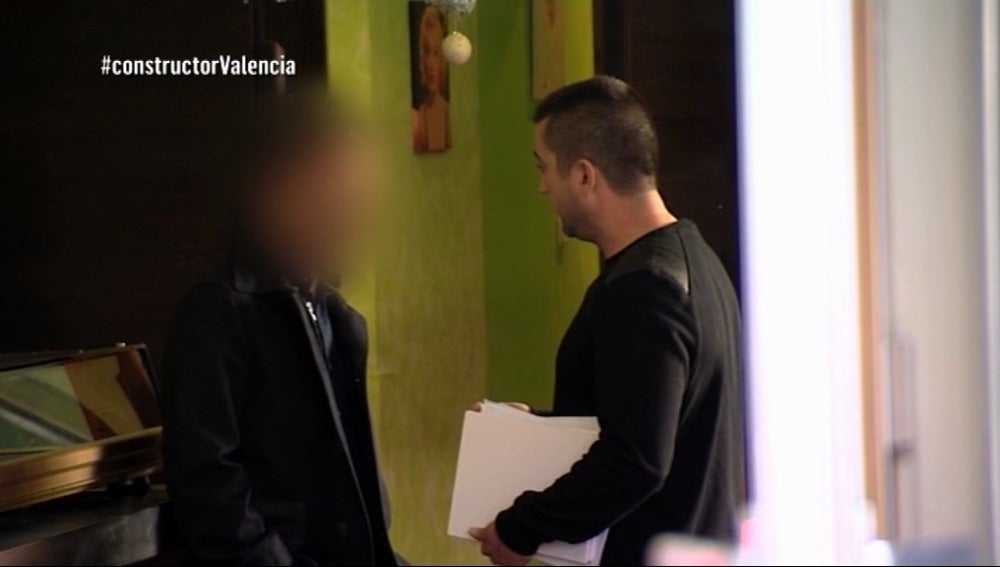Cristian, el constructor a la fuga, es asaltado por Antonio