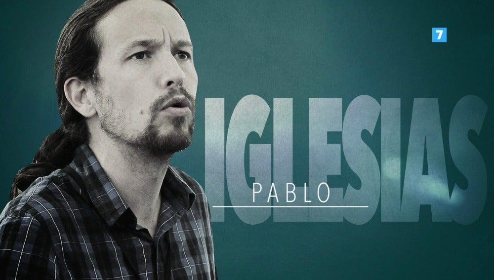 Pablo Iglesias visita el plató de El Objetivo