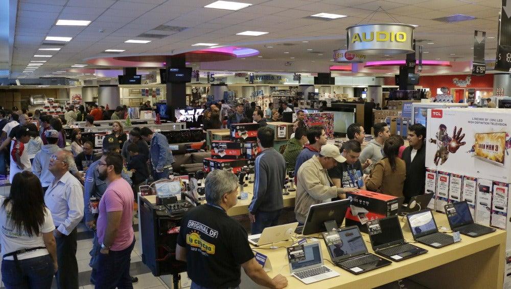 Comercio durante el Black Friday