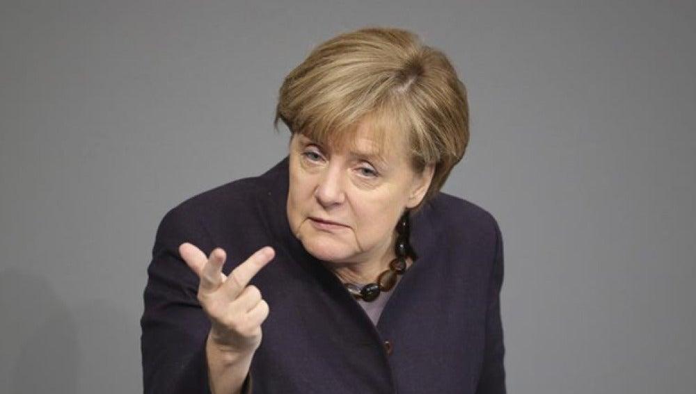 Angela Merkel en una imagen de archivo