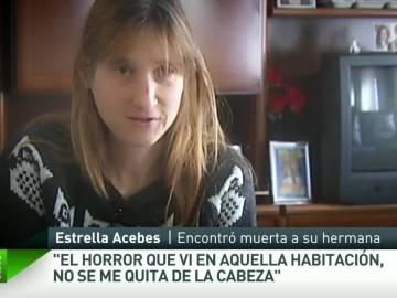 Estrella, hermana de Susana Acebes