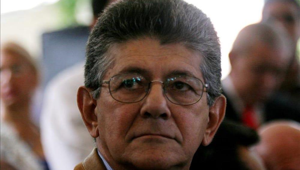 El secretario general del partido Acción Democrática, Henry Ramos Allup