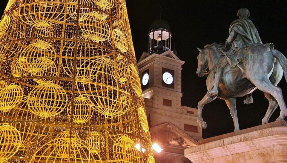 Árbol de Navidad en la Puerta del Sol, Madrid