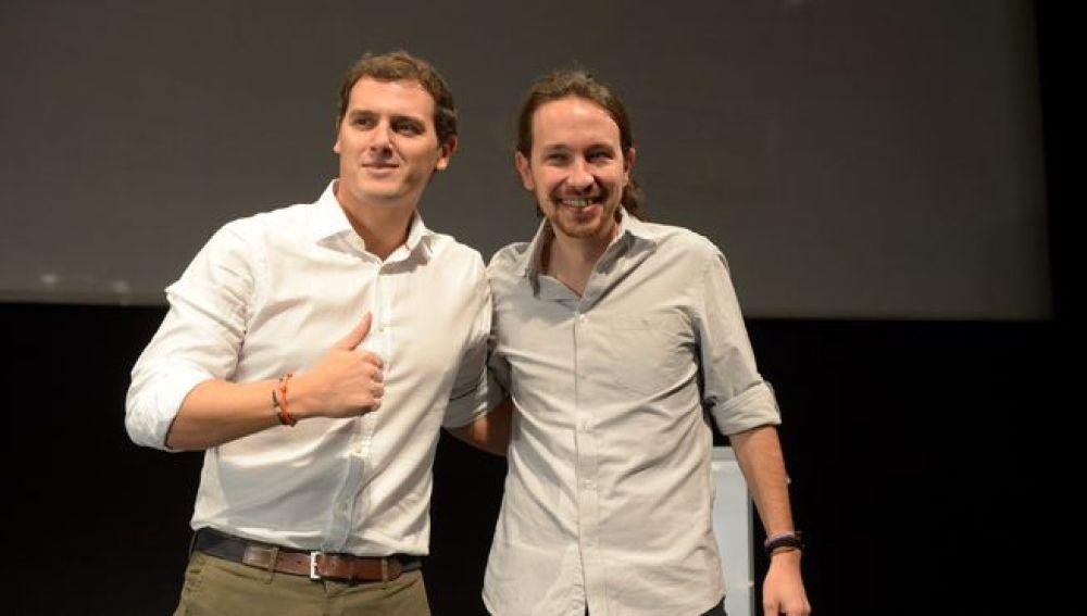 Debate entre Albert Rivera y Pablo Iglesias