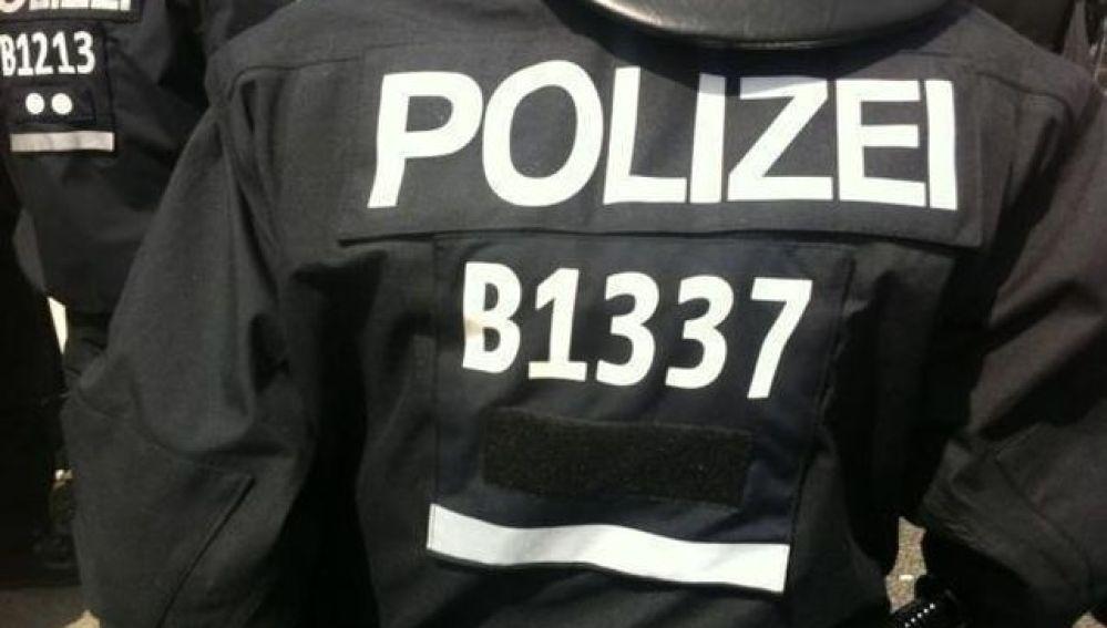Policía alemana