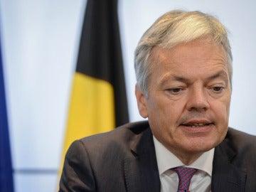 Didier Reynders, ministro de Exteriores belga