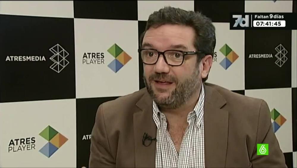 Paco Sierra, director de Atresmedia Digital