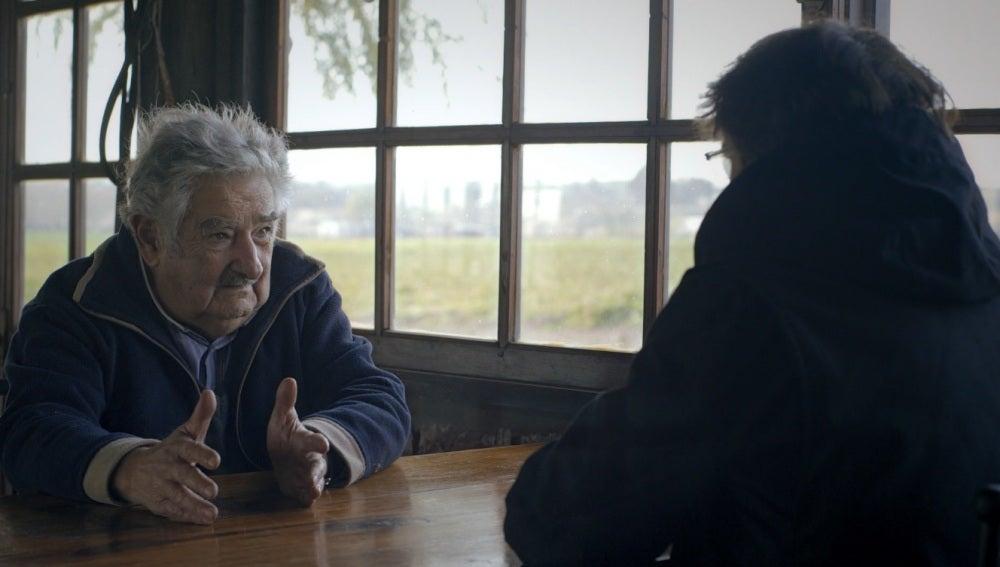 Mujica en Salvados