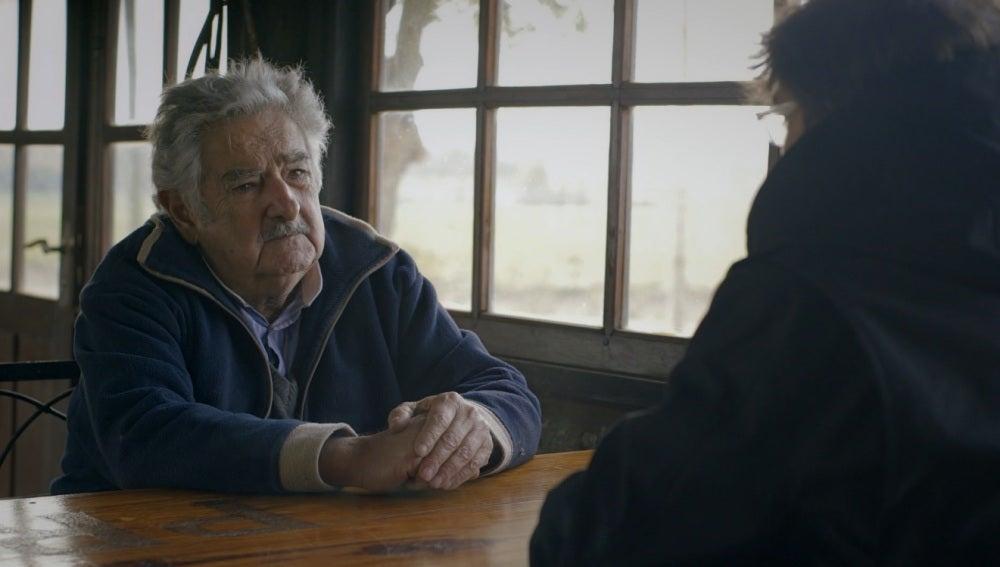 José Mujica con Jordi Évole