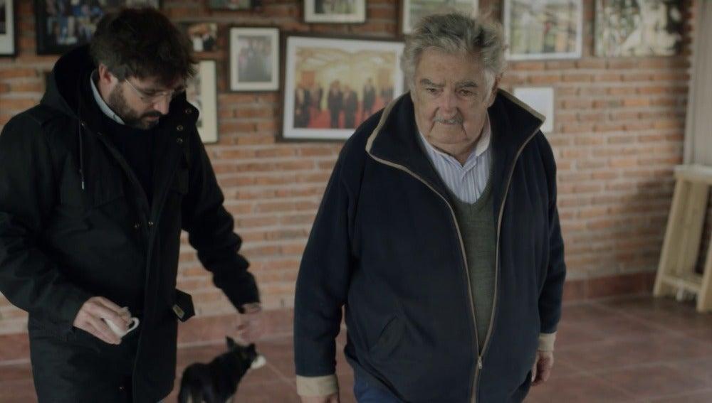 Jordi Évole y José Mujica