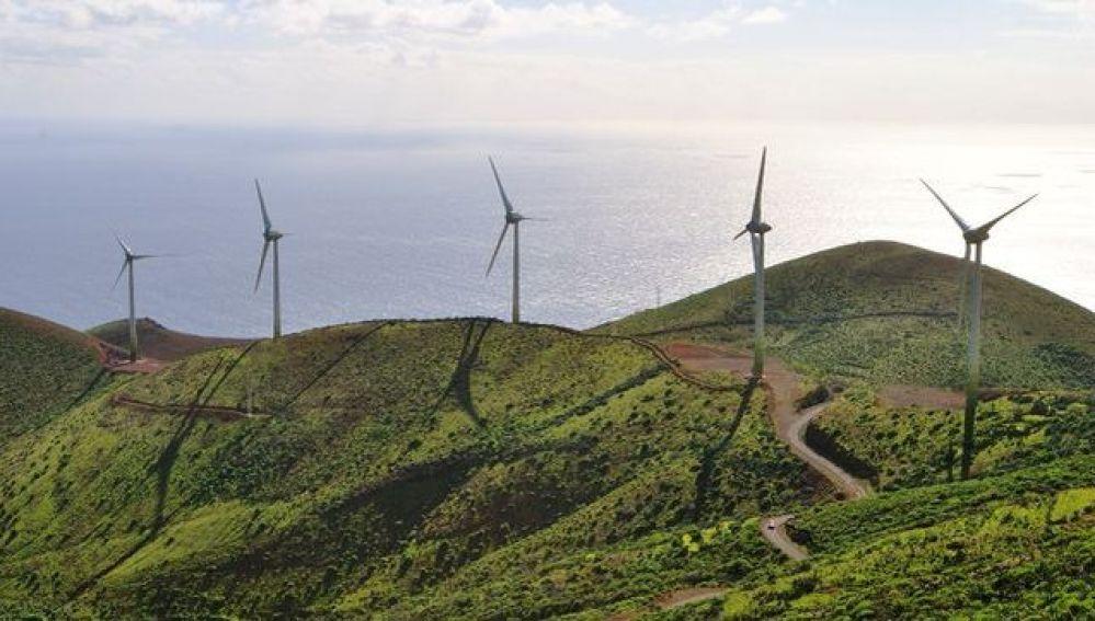 Imagen del parque nacional de El Hierro