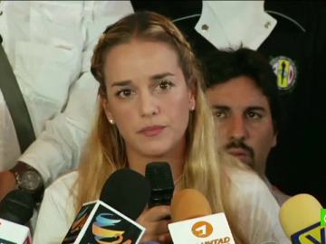 Lilian Tintori, mujer de Leopoldo López