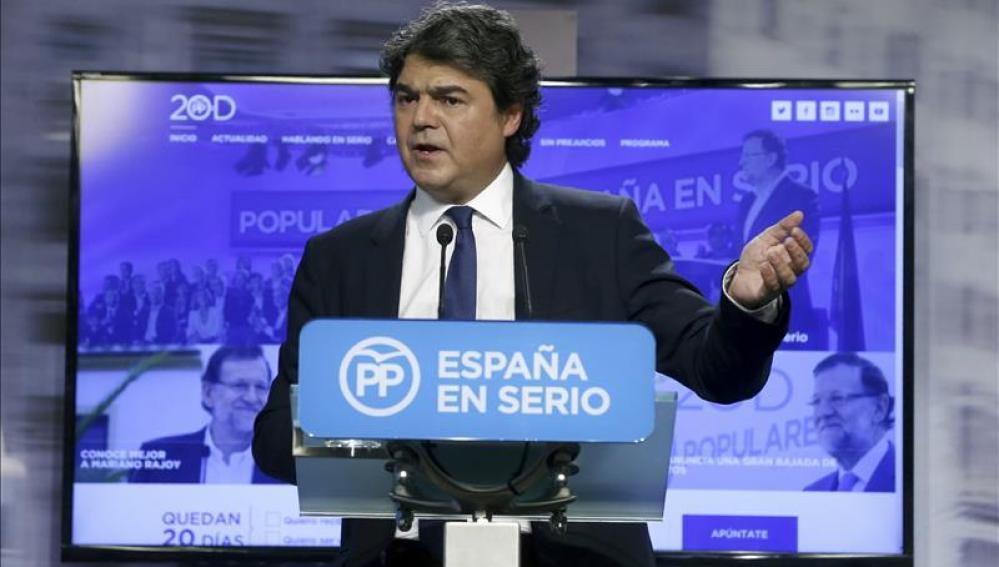 El director de Campaña del PP, Jorge Moragas