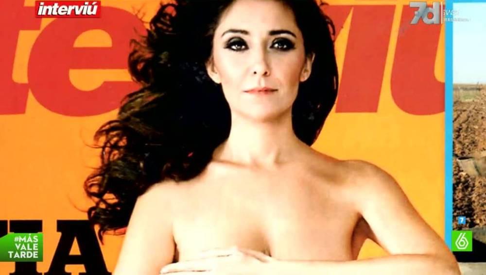El Polémico Desnudo De Carmen López La Ciudadana Rebelde