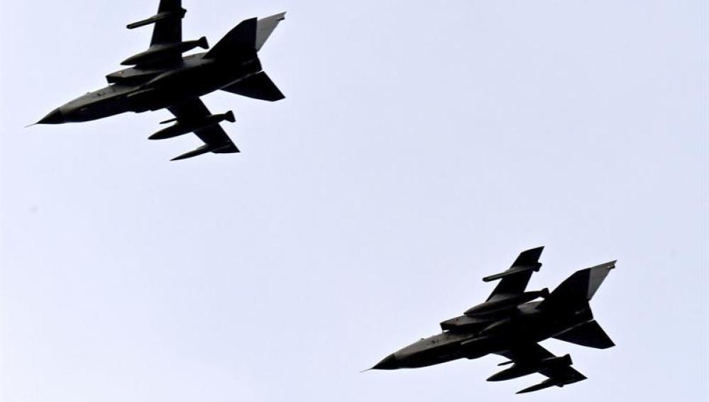 Aviones Tornado del escuadrón de reconocimiento 51 del ejército alemán